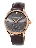 Frederique Constant Men's Horological Smartwatch Quartz Rose Gold 42mm Watch