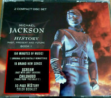 MICHAEL JACKSON ~ HISTORY UNCENSORDED FIRST EDITION 01-474709-10 ~ 2 CD FAT BOX