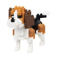 NEW NANOBLOCK Beagle Dog Nano Block Micro-Sized Building Blocks NBC-253