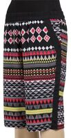 Womens Vintage Style Tweed Aztec Pattern Lined Shorts UK 8 10 12 14 16 18