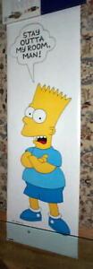 Vintage Huge THE SIMPSONS Bart Door Poster
