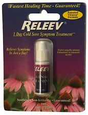 Releev 1 Day Cold Sore Symptom Treatment 1ml Viracea Formula Exp. 2021
