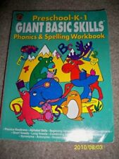 Giant Basic Skills Preschool-K-1Phonics and Spelling Workbook  Honey