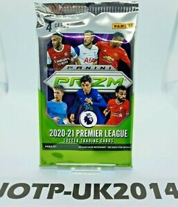 2020-21 Panini Prizm Premier League EPL Soccer BLASTER Pack **SEALED UK 2021**