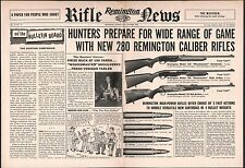 1958 REMINGTON 740 Woodmaster, 760 Gamemaster & 725 Rifle Centerfold AD