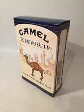 NOS HUGE CAMEL TURKISH CIGARETTE BOX DISPLAY ADVERTISING SIGN NEW OLD STOCK