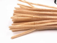 100pcs Children Chenille Craft Stems Pipe Cleaners 30cm Long 6mm Wide-kids Diy