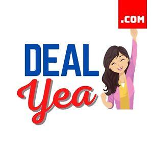 DealYea.com - 7 Letter Short Domain Name - Brandable Catchy Domain .COM Dynadot