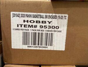 2019-20 Panini Encased Basketball Hobby 8-Box Case Zion Williamson? Ja Morant?