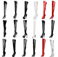 PLEASER 3000 ADORE BLONDIE DAGGER DELIGHT DOMINA Thigh High Boots