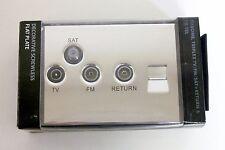 Sector Sequel Chrome Triplex TV, FM, Sat + Return & 1G Telephone