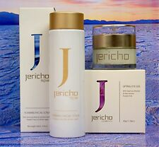 "Jericho Dead Sea ""1 x LIFTING EYE GEL + 1 x FOAMING FACIAL SCRUB"" for use daily!"