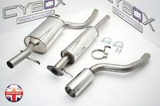 NEW FORD FOCUS MK1 ST170 CAT BACK STAINLESS STEEL EXHAUST SYSTEM