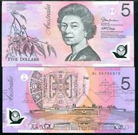 AUSTRALIA 5 DOLLARS 2006 P 57 POLYMER UNC
