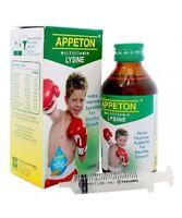 120ml APPETON Multivitamin LYSINE SYRUP for Improve Child Appetite