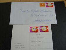 Nederland 998 op verzonden brief en kaart