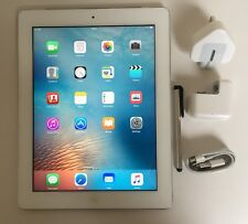 Excellent Apple iPad 3rd generation 16GB, Wi-Fi + Cell (Unlocked), 9.7in -White.
