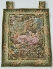 Vintage French Garden Swing Scene Wall Hanging Tapestry (90X66cm)