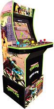 Arcade Game Machine Teenage Mutant Ninja Turtles LCD Screen With Riser Cabinet
