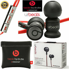 Beats by Dre UrBeats In-Ear Headphones - Boxed &Sealed - Black & Red - Brand New