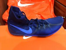 New Nike Running Zoom Victory Waffle 4 Track Blue 878803-404 Men's Size 10 BLUE