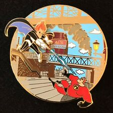 THE INCREDIBLES SYNDROME FANTASY TALES BELOVED DISNEY PIXAR FANTASY PIN LE 75