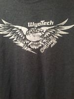 Men's WyoTech T-shirt - Brand New - Med Large Extra Large Available