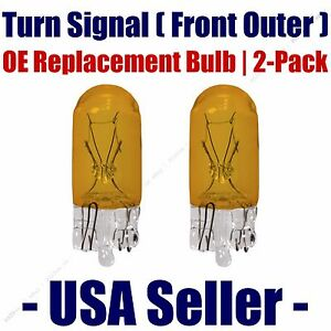 Front Outer Turn Signal Light Bulb 2pk - Fits Listed Scion Vehicles - 2827