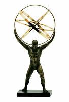 ATLAS TITAN Celestial Sphere Greek God Statue Sculpture Bronze Finish 19.88 inch