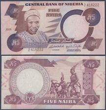 NIGERIA P24i***5 NAIRA***ND 2005***UNC GEM***SEE FULL DESCRIPTION*
