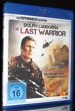 BLU-RAY - THE LAST WARRIOR - THE EXPENDABLES SELECTION - DOLPH LUNDGREN * NEU *