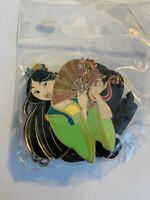 DEC Princess Pals Mulan And Mushu Bolo Lanyard Disney Pin LE (B7)