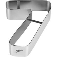 Ateco 6967 Number 7 Large Cake Cookie Cutter 7-1/4 Inch