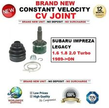 FOR SUBARU IMPREZA LEGACY 1.6 1.8 2.0 Turbo 1989->ON CONSTANT VELOCITY CV JOINT