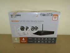 Samsung Wisenet 4-Channel 1080p Hd Ip Nvr Security System with 1 Tb Hard Drive