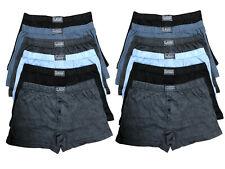 100% Premium Cotton Anti-Allergy Mens Boxer Shorts Button Fly Mens Underwear