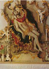 Vintage POSTCARD Kloster ANDECHS Altarausschnitt PIETA Farbkarten Ein Begriff