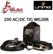 UNIMIG RAZOR DIGITAL 200 AC/DC PULSE TIG WELDER
