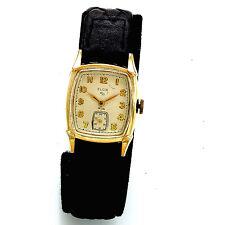 Vintage 17-Jewel Manual Wind Man's Elgin Wrist Watch CA1960s