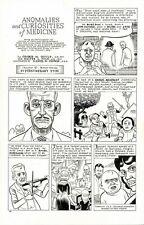 DANIEL CLOWES Eightball #13 ORIGINAL BACK COVER COMIC ART