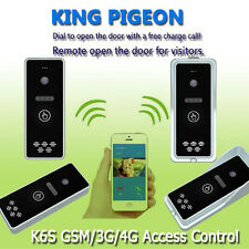 GSM 4G Wireless Audio Intercom Gate Door Opener Systems Security Free Call 9~15V