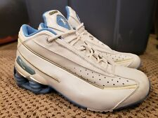 NIKE Shox Ken Griffey Jr. G7 Shoes White and Blue Leather VTG 1997 Size 6 Men's