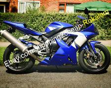 For Yamaha YZF-R1 02 03 YZFR1 YZF R1 2002 2003 Blue White Motorbike Fairing Kit