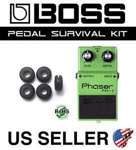 BOSS PH-1 PH-2 PH-3 Phaser Guitar Pedal Rubber Grommet Survival Kit (SET OF 5)