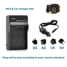 Battery Charger kit  for FUJIFILM NP60 CASIO NP30 PENTAX DL12 NP-60 NP60