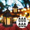 8 x LED Laterne, Deko-Laterne LED Kerze, Gartenlaterne, Windlicht Flammeneffekt