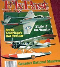 Flypast Magazine 1983 August Vampire,Heston,Canadian Warplane Heritage,Stirling