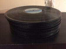 "50 grosse Schallplatten Vinyl 12"" zum Basteln Deko Partykeller"