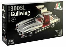 Italeri Mercedes-Benz 300sl/300 Sl Gullwing 1:16 Kit Model Set 3612