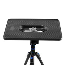 Professional Photography Computer tray all metal with 1/4 3/8 screw for tripod